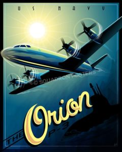P-3 Orion SP00539-vintage-military-aviation-travel-poster-art-print-gift