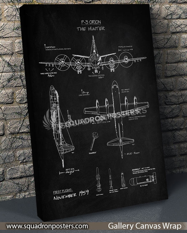 P-3_Orion_Blackboard_SP00855-vintage-travel-poster-aviation-squadron-print-poster-art