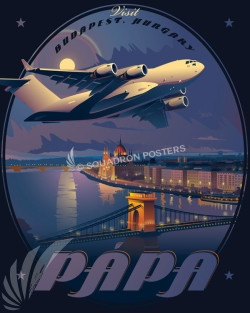 Papa_Hungary_C-17_HAW_Generic_SP01046-featured-aircraft-lithograph-vintage-airplane-poster-art
