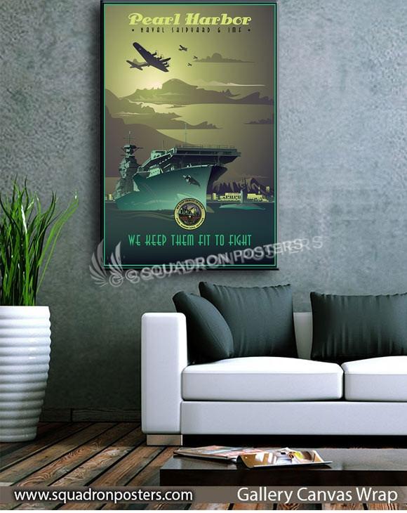 Pearl_Harbor_SP01359-squadron-posters-vintage-canvas-wrap-aviation-prints