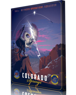 Peterson AFB, Colorado561st Network Operations Squadron canvas art