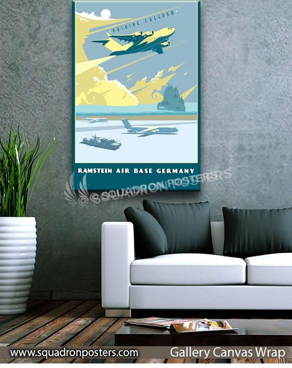 Ramstein_AB_C-17_SP01419-squadron-posters-vintage-canvas-wrap-aviation-prints