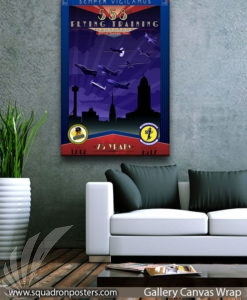 Randolph_AFB__558th_FTS_75th_Anniversary_20x30_FINAL_Sam_Willner_SP01583Lsquadron-posters-vintage-canvas-wrap-aviation-prints