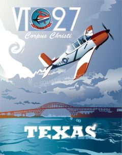 Corpus Christi T-34B VT-27 military-aviation-poster-art-print-gift-SP00111
