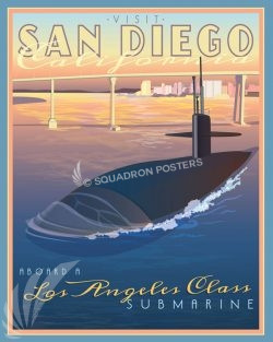 San_Diego_CA_Sub_SP01527-featured-aircraft-lithograph-vintage-airplane-poster