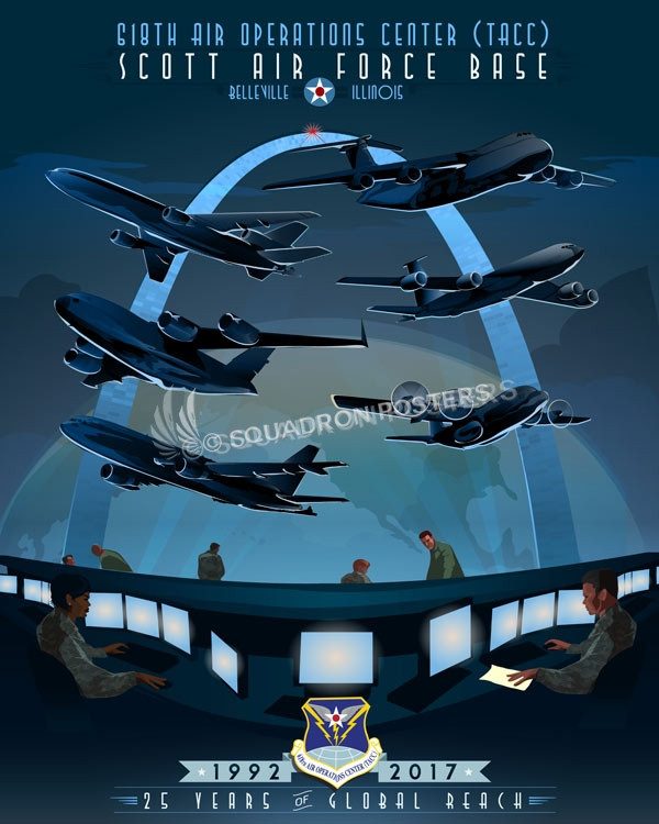 Scott Afb 618th Air Operations Center Tacc Squadron