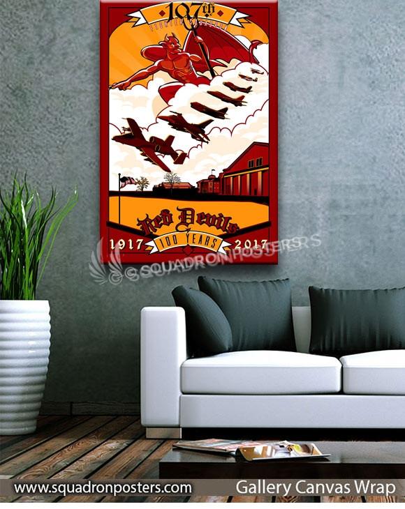 Selfridge_ANG_A-10_107th_FS_Centennial_SP01367-squadron-posters-vintage-canvas-wrap-aviation-prints-art