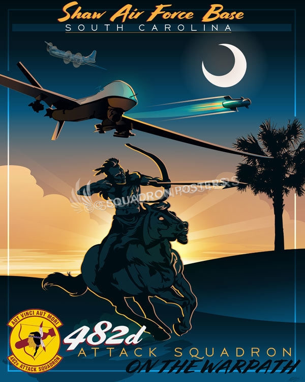 Shaw AFB 482nd Attack Squadron