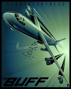 Shockwave B-52 SP00607-vintage-military-aviation-travel-poster-art-print-gift