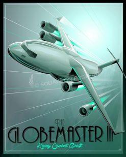 Shockwave C-17 SP00548-vintage-military-aviation-travel-poster-art-print-gift