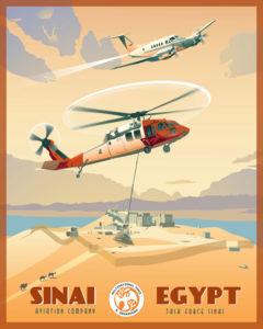 Sinai Peninsula Egypt (North Camp / South Camp)