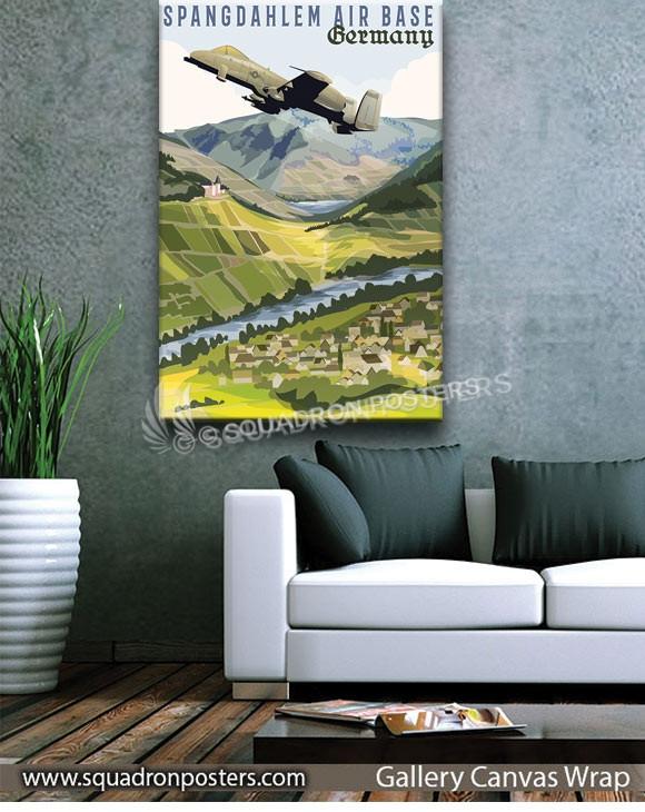 Spangdahlem_AB_Germany_SP01241-squadron-posters-vintage-canvas-wrap-aviation-prints