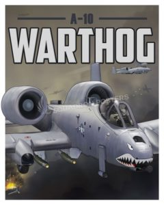 Through The Ages A-10 Warthog SP00649 feature-vintage-print