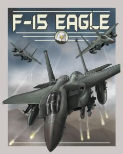 Through The Ages F-15 Eagle SP00724 feature-vintage-print