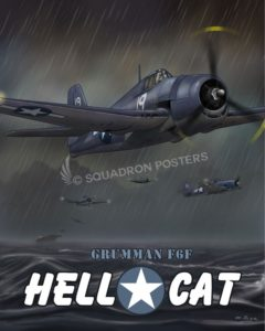 Through The Ages F6F Hellcat SP00650 feature-vintage-print