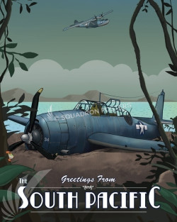 Through The Ages South Pacific SP00651 feature-vintage-print