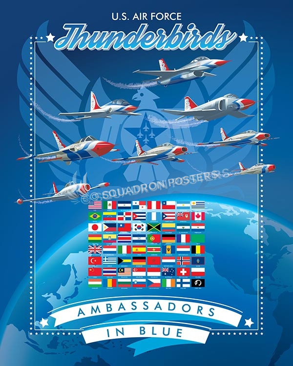 thunderbirds-sp00473-vintage-military-aviation-travel-poster-art-print-gift