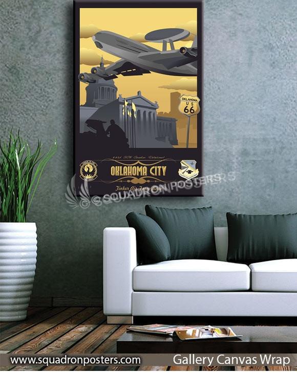 Tinker_E-3_552d_ACW_Canadian_Detachment_SP01049-squadron-posters-vintage-canvas-wrap-aviation-prints
