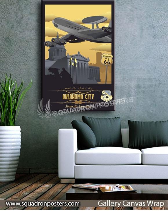Tinker_E-3_552d_Air_Control_Wing_SP00831-squadron-posters-vintage-canvas-wrap-aviation-prints