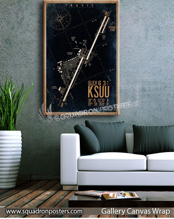 Travis_AFB_(KSUU)_Airfield_Map_SP00892-squadron-posters-vintage-canvas-wrap-aviation-prints