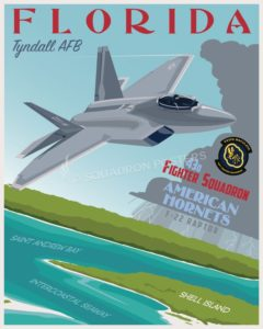 Tyndall_F-22_43d_FS_SP00833-featured-aircraft-lithograph-vintage-airplane-poster-art