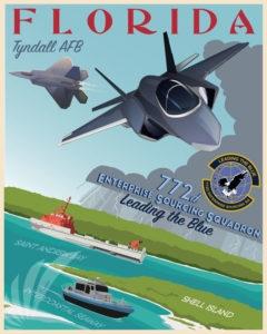 Tyndall F-22 F-35 772 ESS