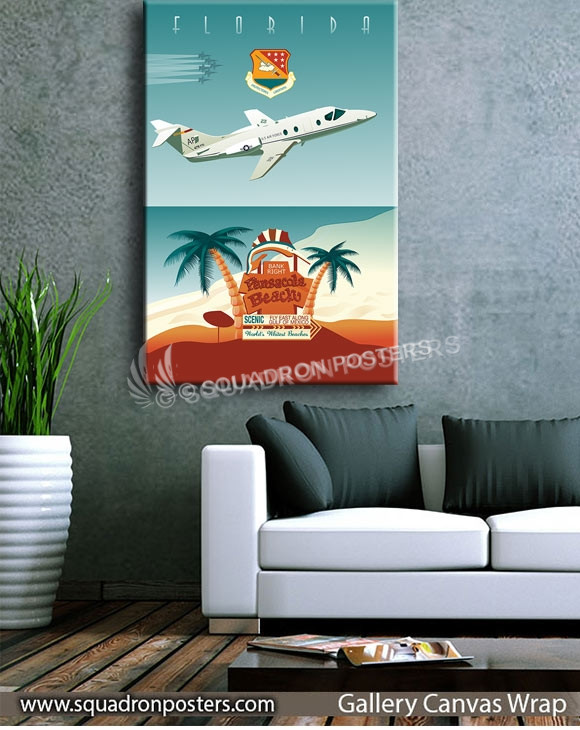 USAF_NAS_Pensacola_SP00802-squadron-posters-vintage-canvas-wrap-aviation-prints