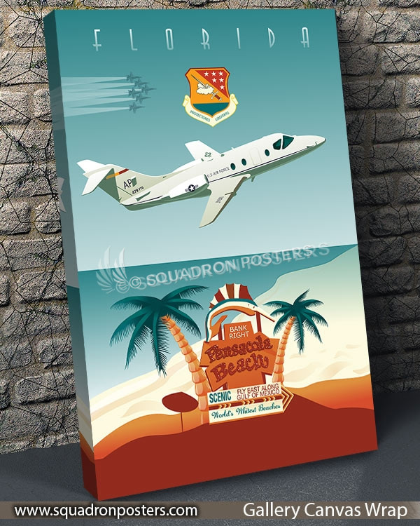 USAF_NAS_Pensacola_SP00802-vintage-travel-poster-aviation-squadron-print-poster-art