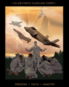 U S Air Force Chaplain Corps Squadron Posters