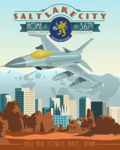 Utah_F-16_367th_TRSS_SP00985-featured-aircraft-lithograph-vintage-airplane-poster-art