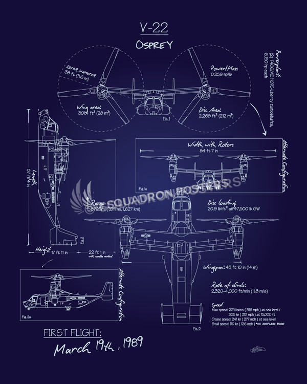 V-22_Osprey_Blueprint_SP00938-featured-aircraft-lithograph-vintage-airplane-poster-art