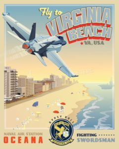 Virginia_Beach_FA-18_VFA-32_SP01006-featured-aircraft-lithograph-vintage-airplane-poster-art