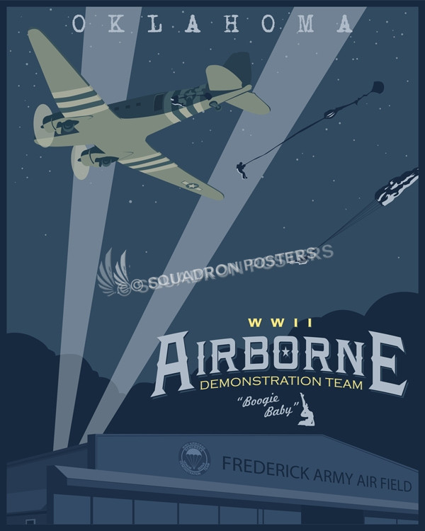 wwii-aerial-demonstration-team-adt-poster-okc