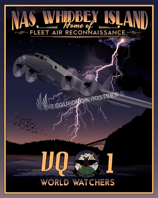 Whidbey VQ-1 SP00615-vintage-military-aviation-travel-poster-art-print-gift