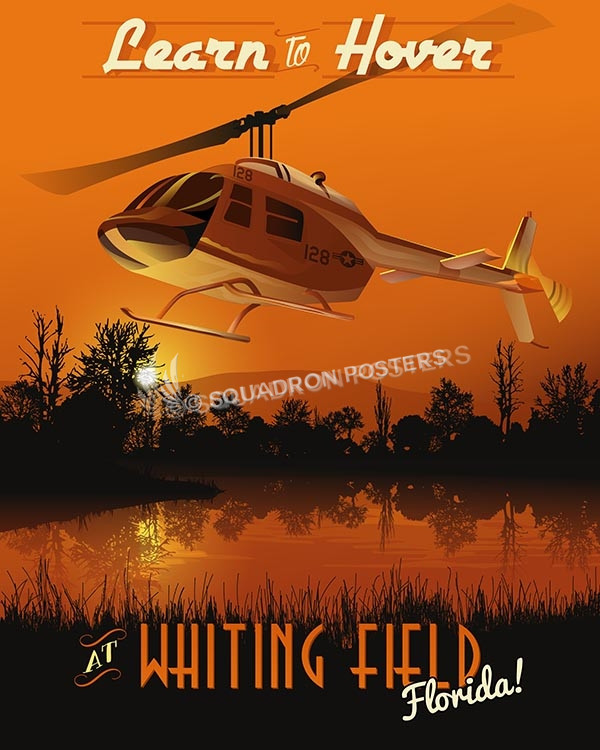 Whiting Lear to Hover TH-57 16x20 SP00498-vintage-military-aviation-travel-poster-art-print-gift