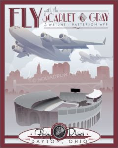Wright Patterson AFB 89th Wright-Pat_C-17_89th_AS_SP00744_featured-aircraft-lithograph-vintage-airplane-poster