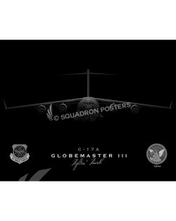 c-17 4 AS jet black SP00790-FEAT-jet-black-aircraft-lithograph