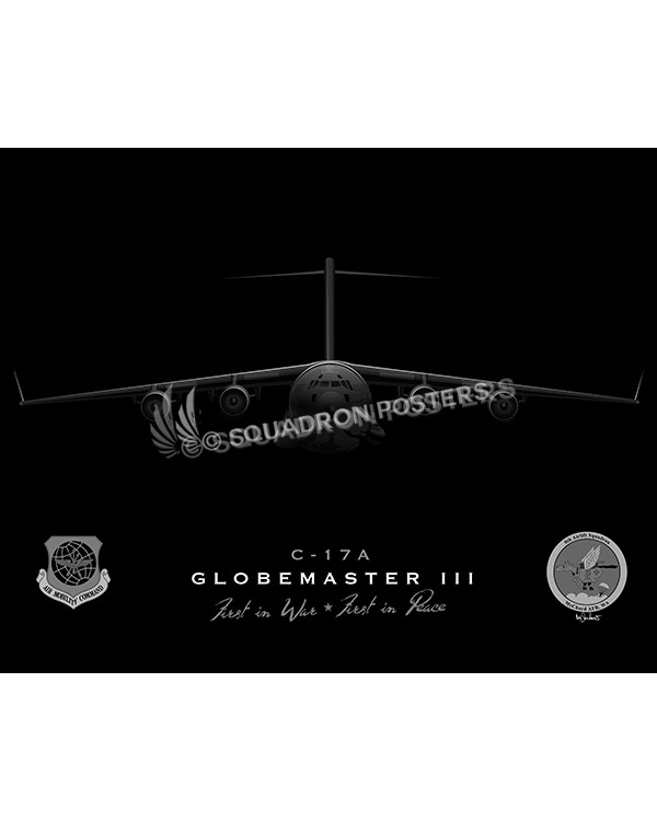 c-17 8 AS jet black SP00793-FEAT-jet-black-aircraft-lithograph