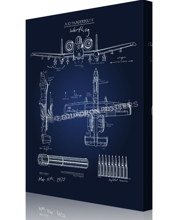 A 10 warthog blueprint t shirt squadron posters aircraft posters attack malvernweather Images