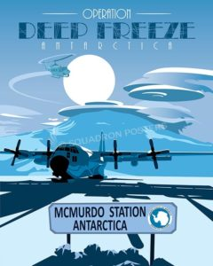 Operation Deep Freeze LC-130 Support poster art