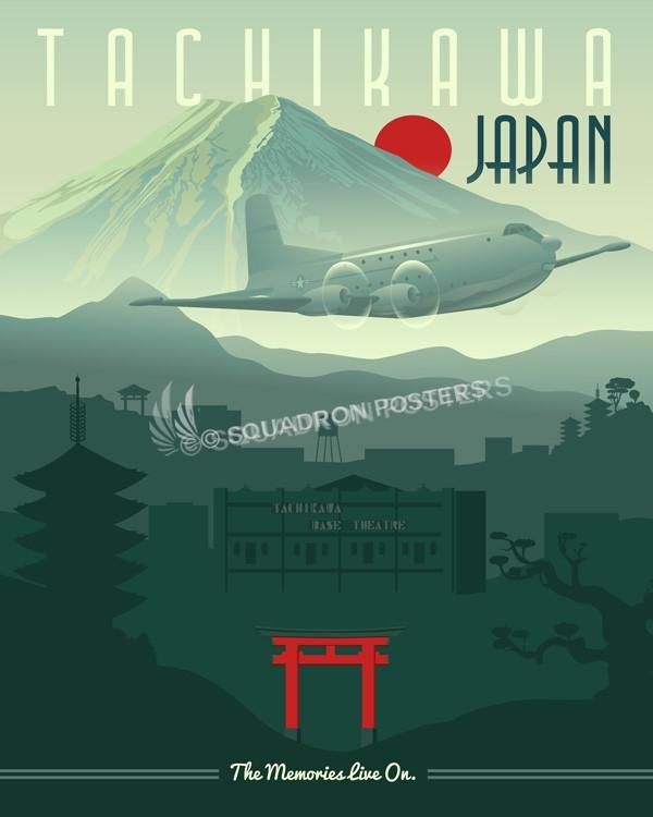 tachikawa-air-base-japan-military-aviation-poster-art-print-gift
