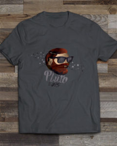 Pluto 2015 Graphic T-Shirt