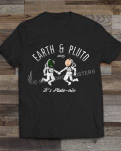 Earth and Pluto 2015 T-shirt