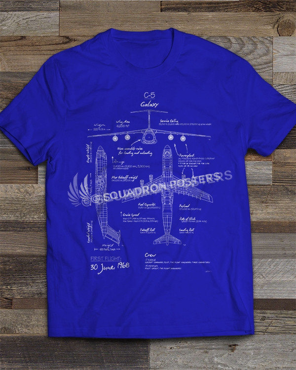 C-5 Blueprint T-shirt
